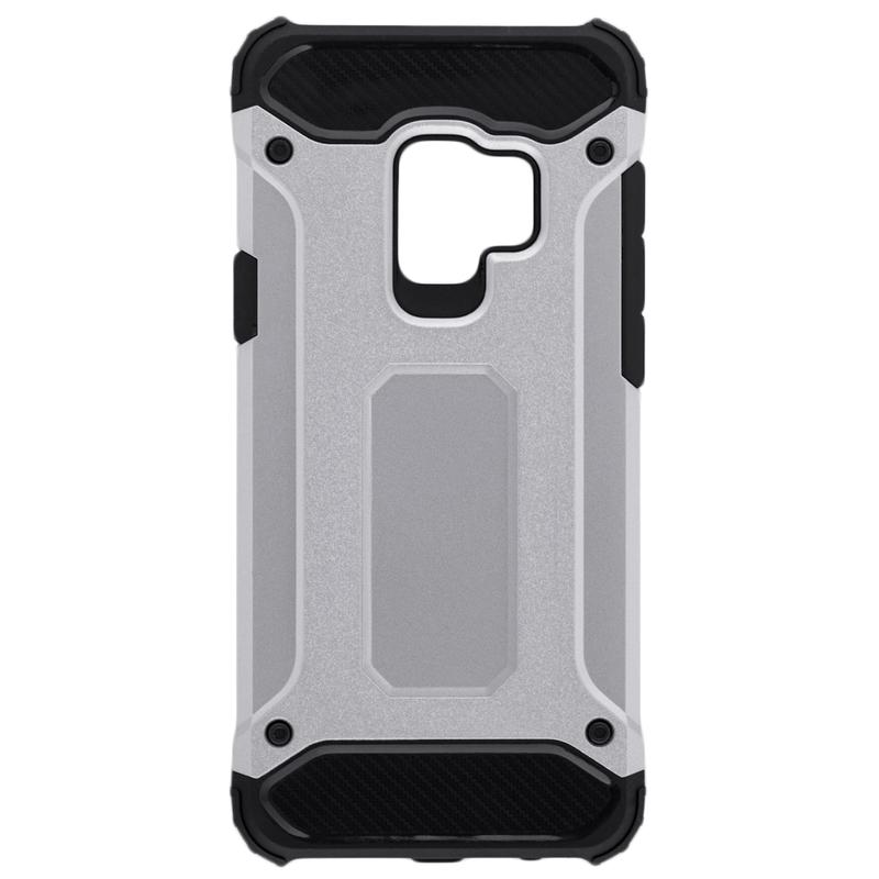Husa Samsung Galaxy S9 Mobster Hybrid Armor - Argintiu