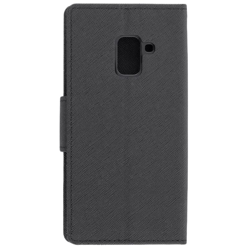 Husa Samsung Galaxy A8 2018 A530 Flip Negru MyFancy