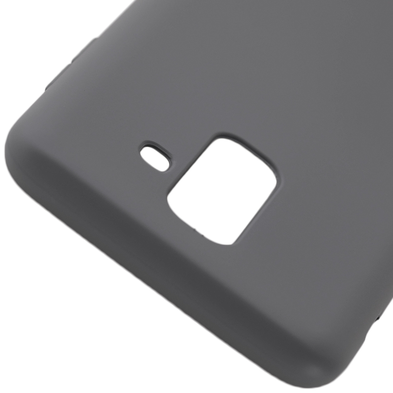 Husa Samsung Galaxy A6 Plus 2018 Roar Colorful Jelly Case Gri Mat