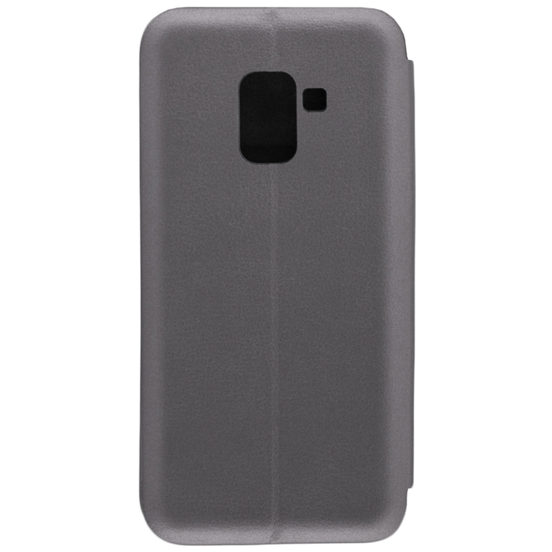 Husa Samsung Galaxy A8 2018 A530 Flip Magnet Book Type - Gri