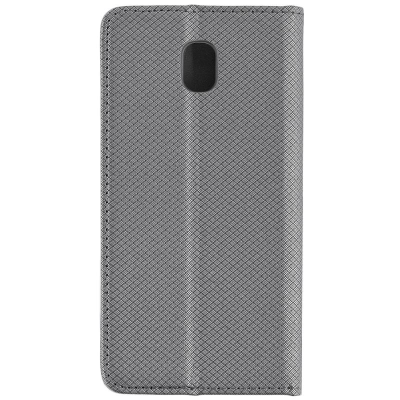Husa Smart Book Samsung Galaxy J5 2017 J530, Galaxy J5 Pro 2017 Flip Gri