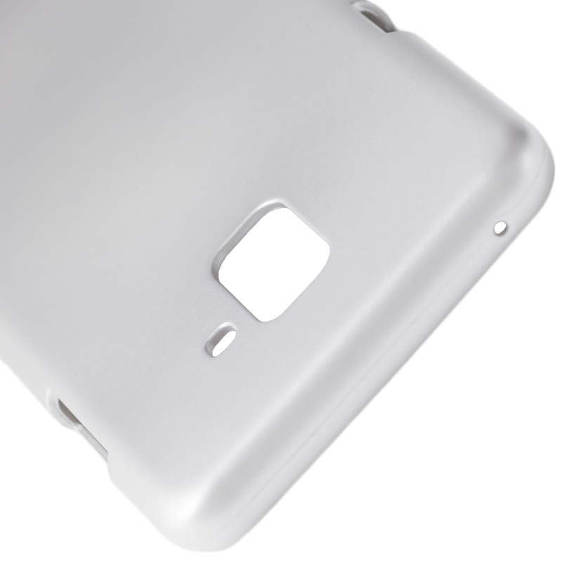 Husa Samsung Galaxy A8 Plus 2018 A730 Mercury i-Jelly TPU - Silver