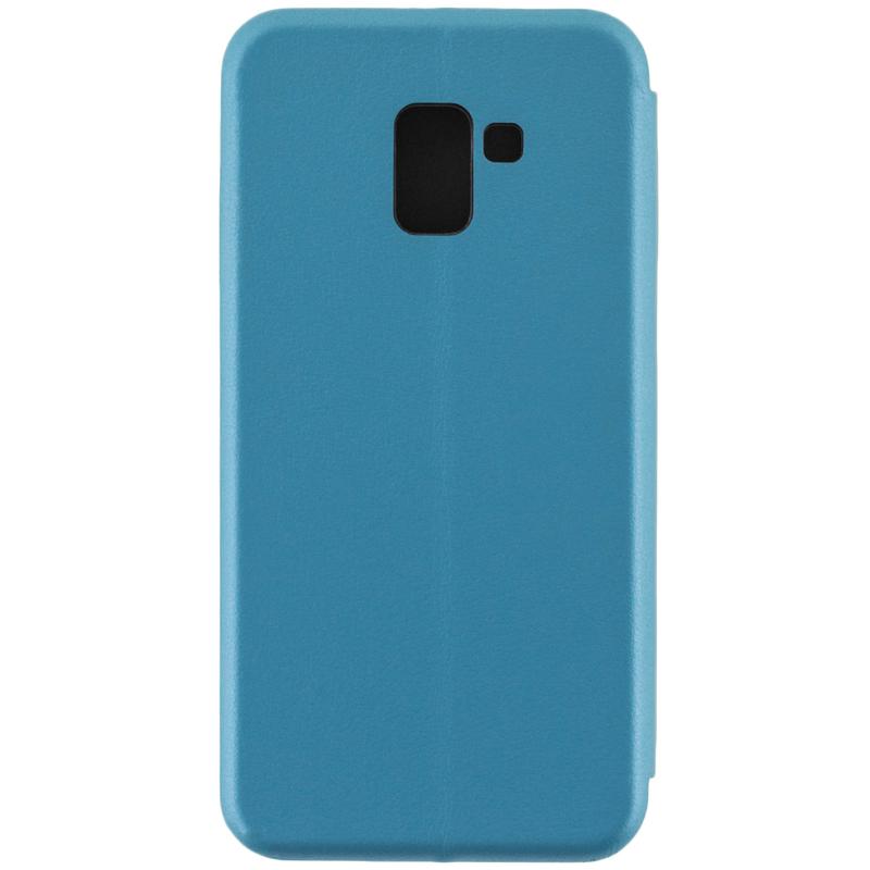 Husa Samsung Galaxy A8 Plus 2018 A730 Flip Magnet Book Type - Albastru