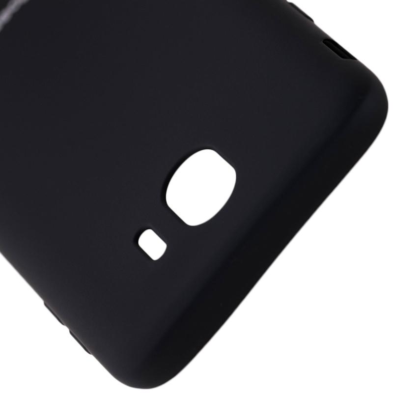 Husa Samsung Galaxy J4 2018 Roar Colorful Jelly Case - Negru Mat