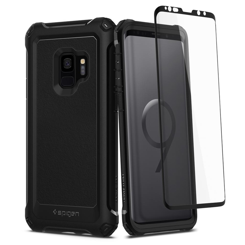 Husa Spigen Samsung Galaxy S9 Pro Guard 360 - Black