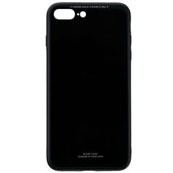 Husa iPhone 8 Plus Glass Series - Negru