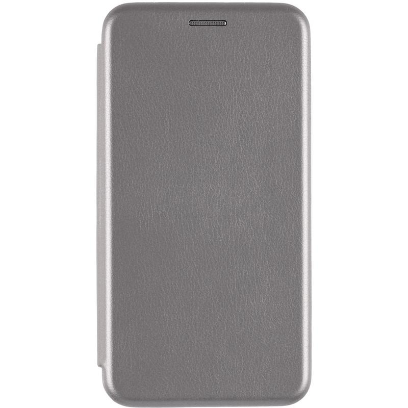 Husa iPhone 6, 6S Flip Magnet Book Type - Gri