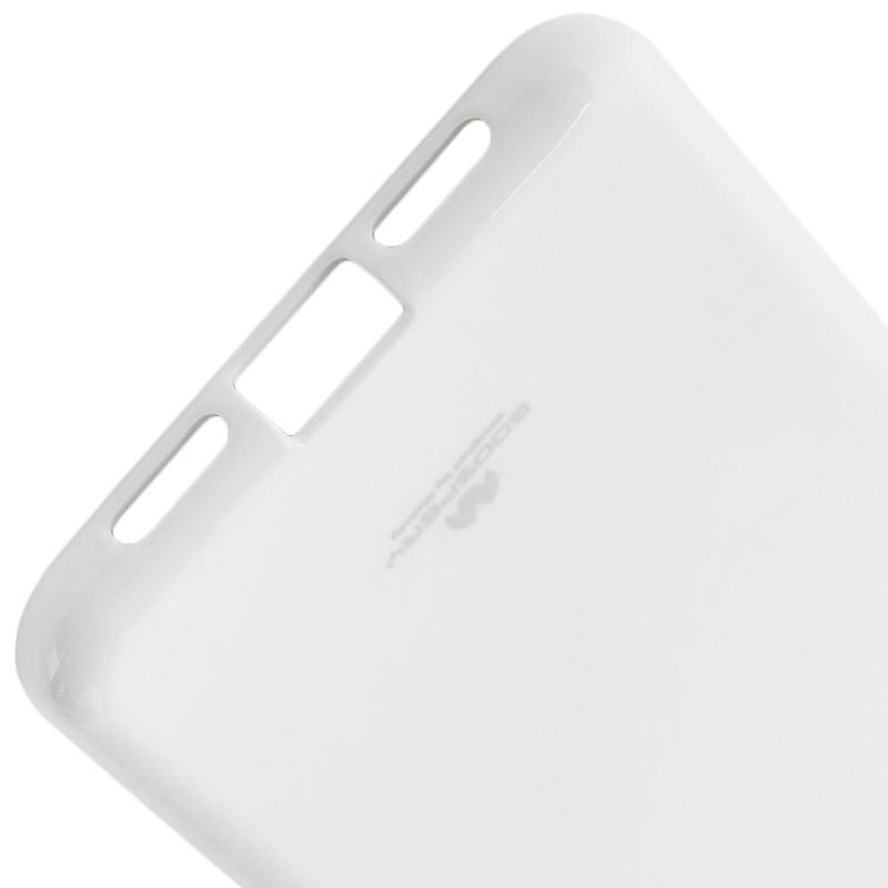 Husa Huawei P20 Goospery Jelly TPU Alb