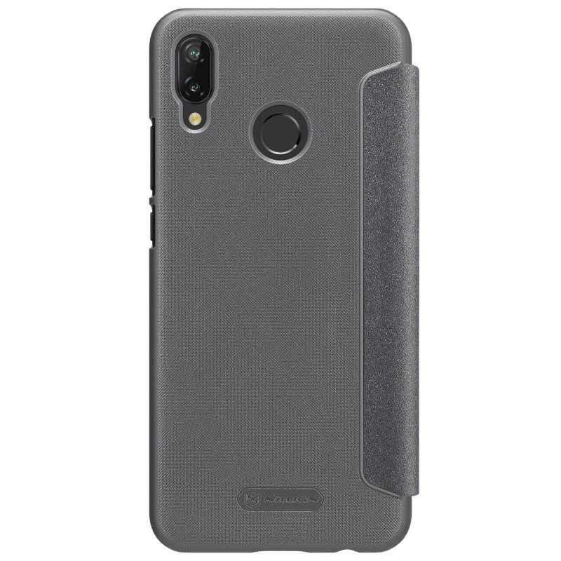 Husa Huawei P20 Lite NILLKIN Sparkle Flip Gri