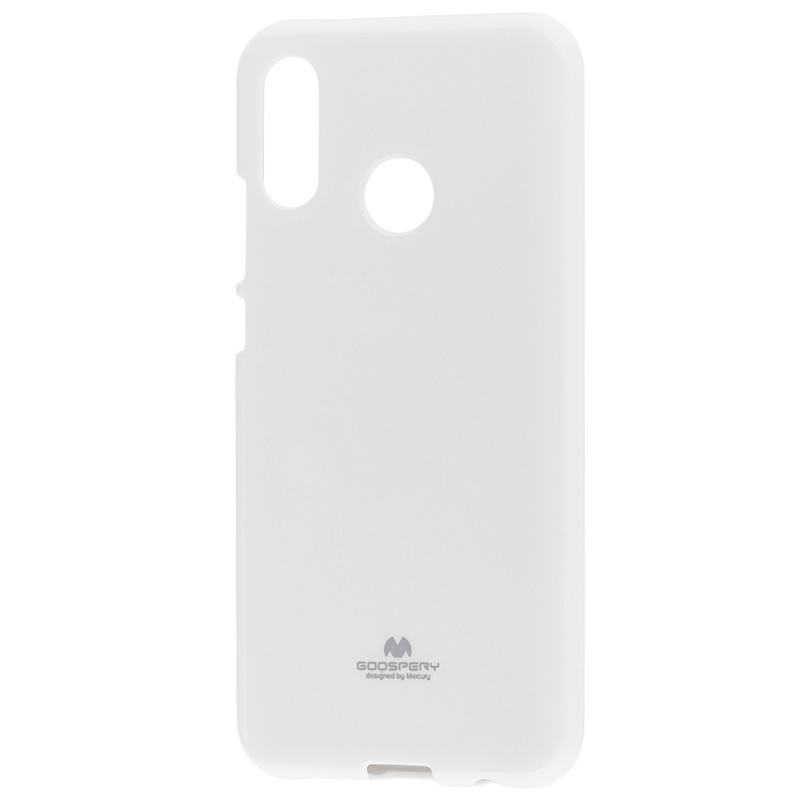 Husa Huawei P20 Lite Goospery Jelly TPU Alb
