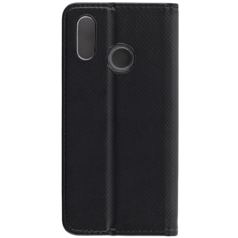 Husa Smart Book Huawei P20 Lite Flip Negru