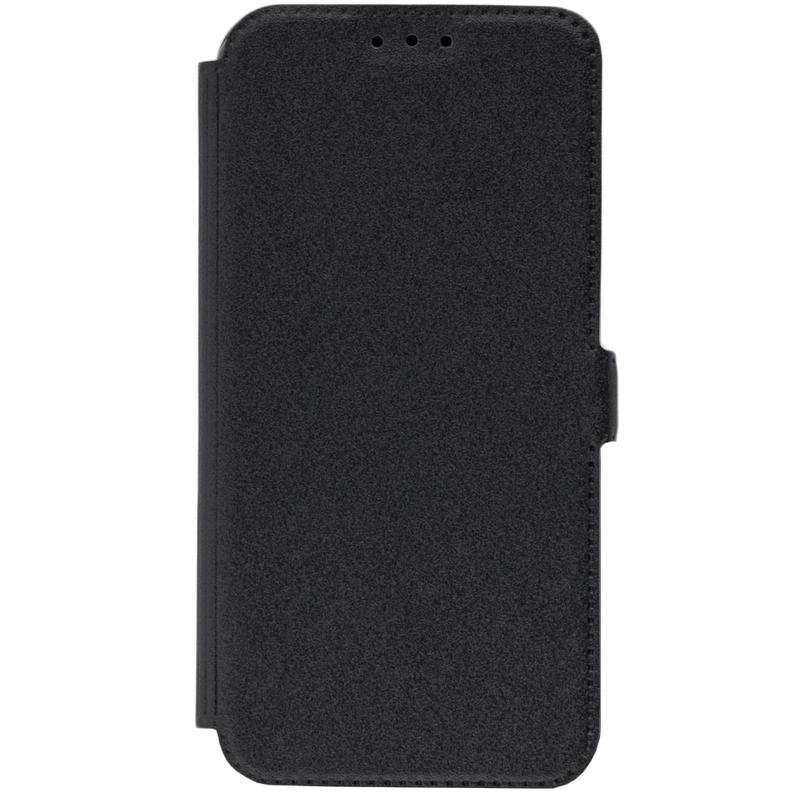 Husa Pocket Book Huawei P20 Lite Flip Negru
