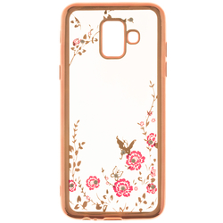 Husa Samsung Galaxy A6 2018 Diamond Cover - Rose Gold