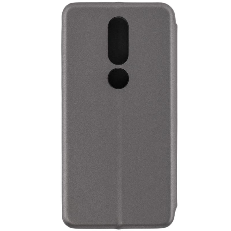 Husa Nokia X6 2018 Flip Magnet Book Type - Grey