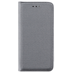 Husa Smart Book Huawei Y6 2017 Flip Gri
