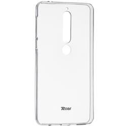 Husa Nokia 6.1 2018 Roar Colorful Jelly Case - Transparent