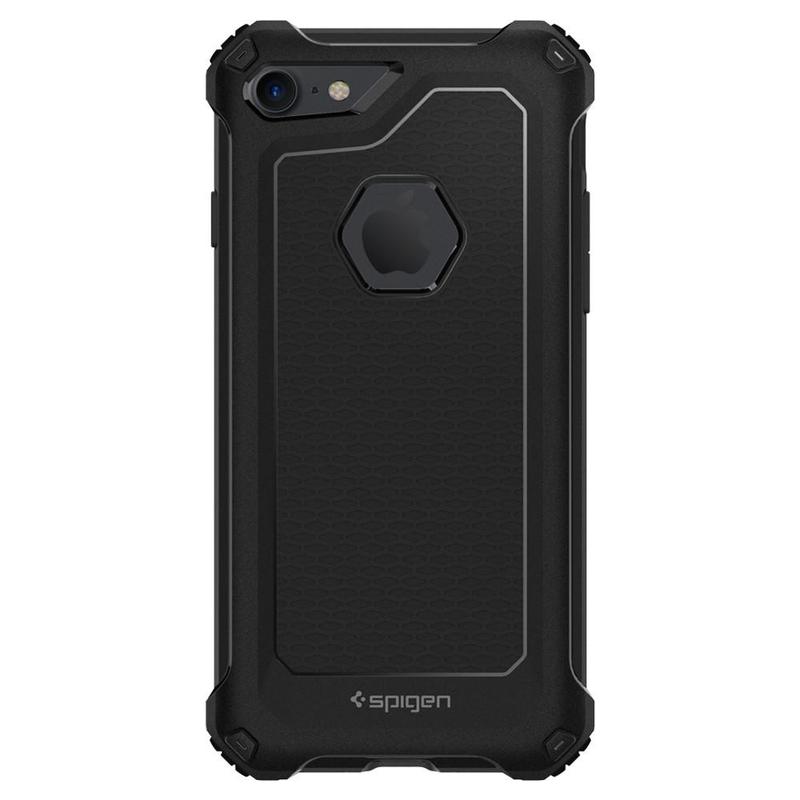 Bumper Spigen Apple iPhone 7 Rugged Armor Extra - Black