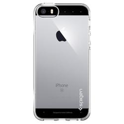 Carcasa iPhone SE, 5, 5S Spigen Liquid Air - Crystal Clear