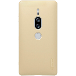 Husa Sony Xperia XZ2 Premium Nillkin Frosted Gold