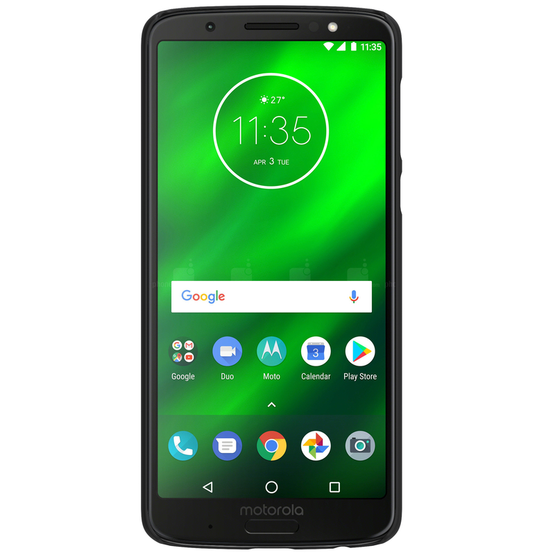 Husa Motorola Moto G6 Plus Nillkin Frosted Black