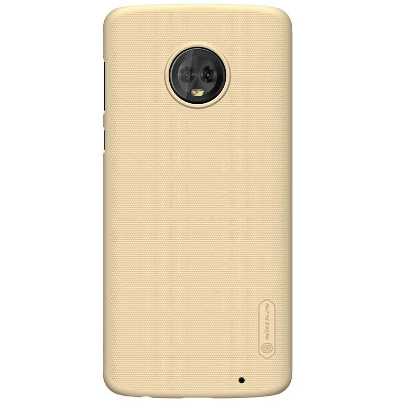 Husa Motorola Moto G6 Plus Nillkin Frosted Gold