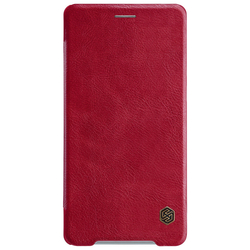 Husa Sony Xperia XZ2 Premium Flip Nillkin QIN Rosu