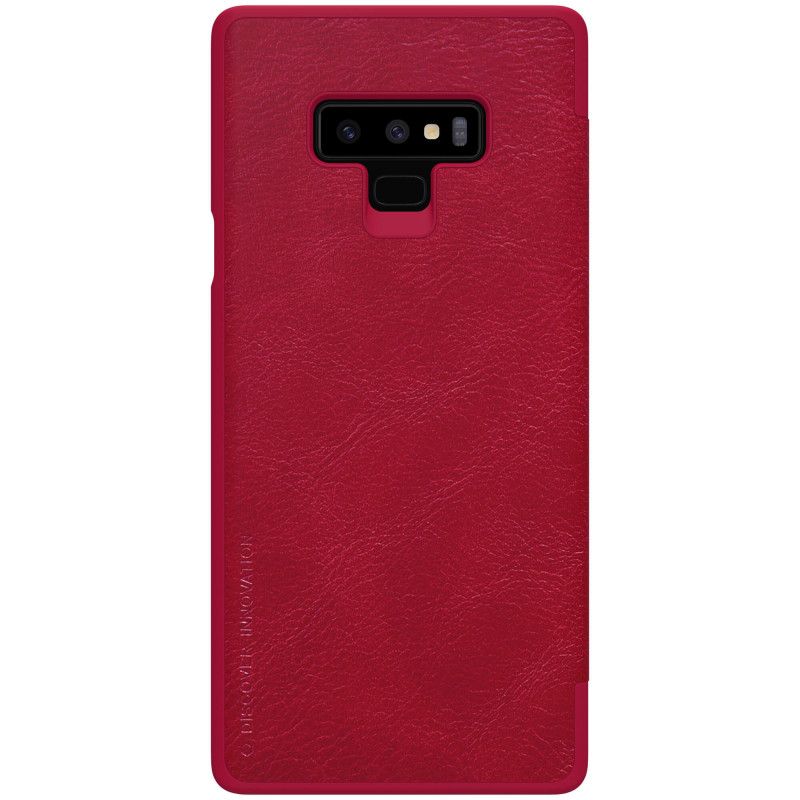 Husa Samsung Galaxy Note 9 Flip Nillkin QIN Rosu