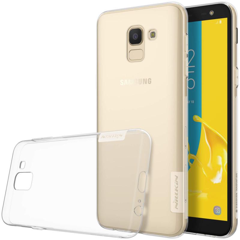 Husa Samsung Galaxy J6 2018 Nillkin Nature UltraSlim Transparent