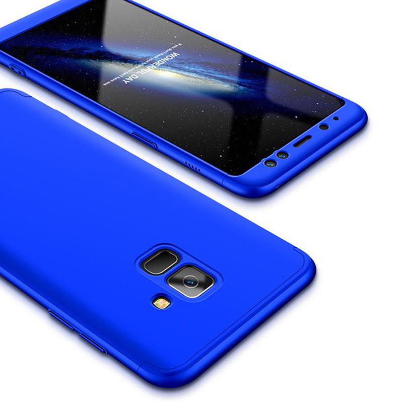 Husa Samsung Galaxy A6 2018 GKK 360 Full Cover Albastru