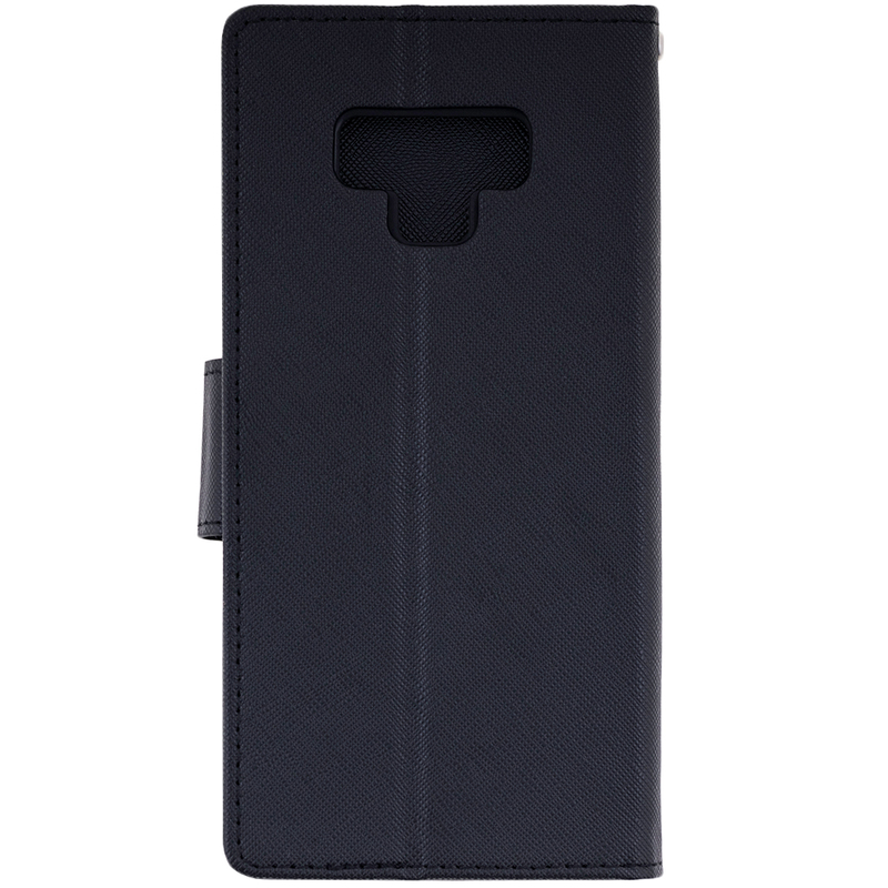 Husa Samsung Galaxy Note 9 Flip Negru MyFancy