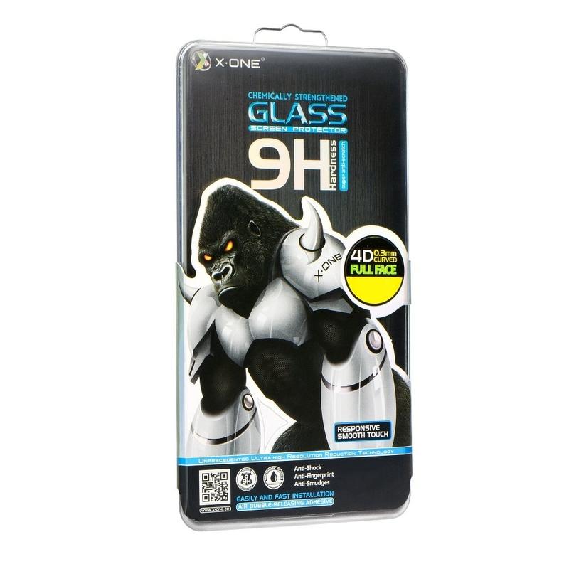 Sticla Flexibila X-ONE Ecran Curbat Samsung Galaxy Note 9 FullCover - Negru