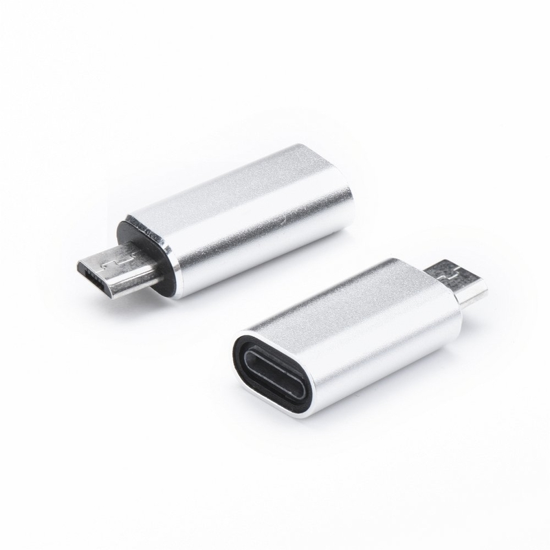 Convertor Lightning - Micro-USB - Gri