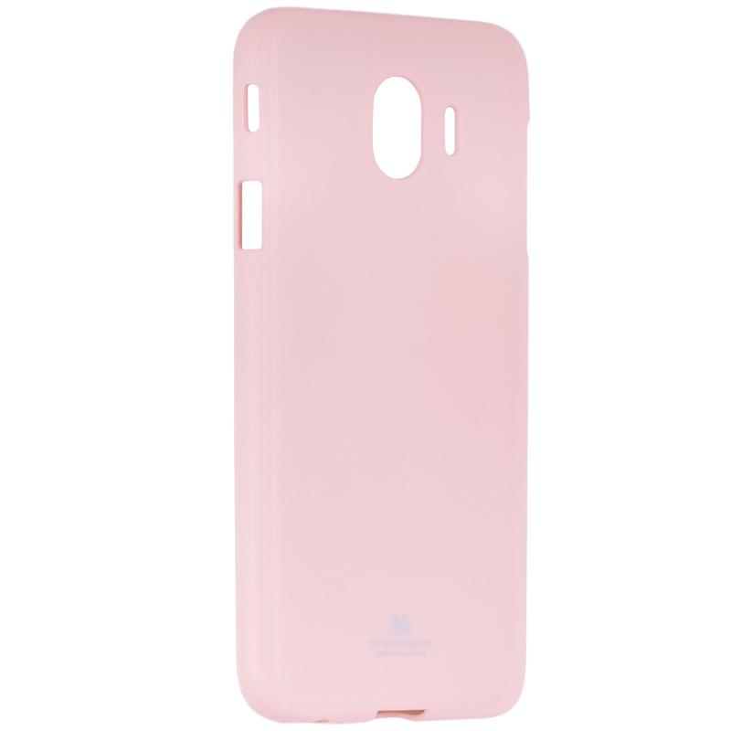 Husa Samsung Galaxy J4 2018 Goospery Jelly TPU Roz Ciclam