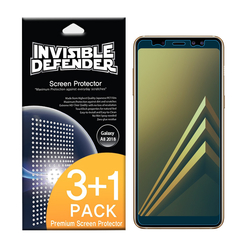 Folie Protectie Samsung Galaxy A8 2018 A530 Ringke Defender(Four Piece Pack) - Clear