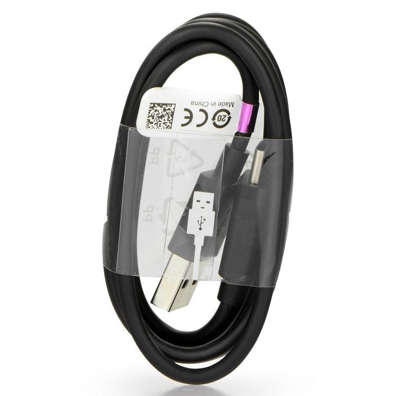 Cablu de date Original Sony UCB20 Type-C Negru Bulk