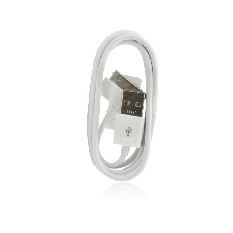 Cablu De Date Apple 30-pin Original Apple MA591 - Alb Bulk