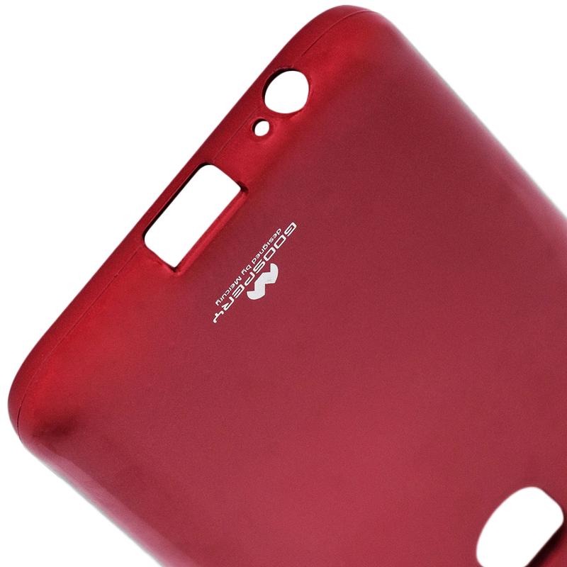 Husa Samsung Galaxy J4 2018 Goospery Jelly TPU Rosu