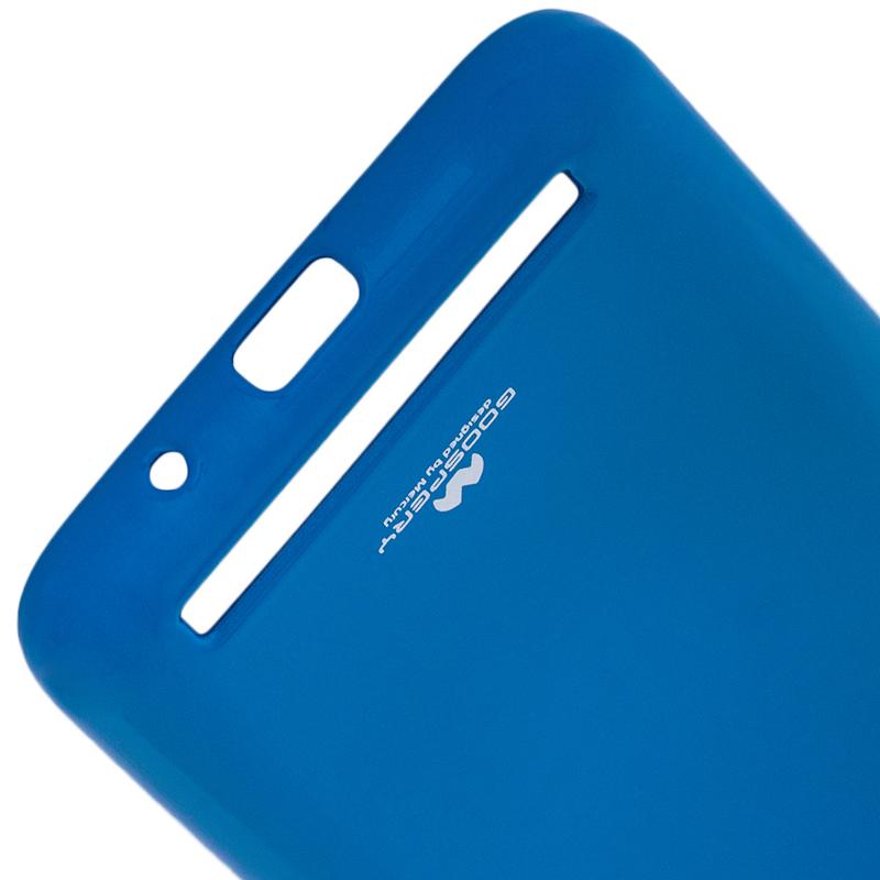 Husa Xiaomi Redmi 5A Goospery Jelly TPU Albastru