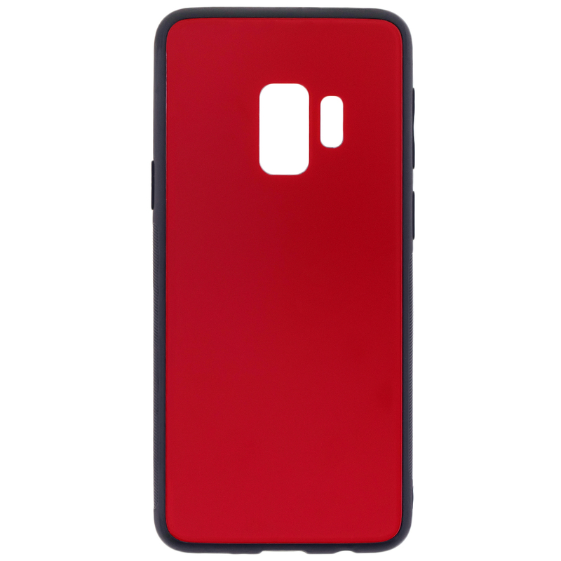 Husa Samsung Galaxy S9 Glass Series - Rosu
