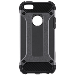 Husa iPhone SE, 5, 5S Forcell Armor - Gri