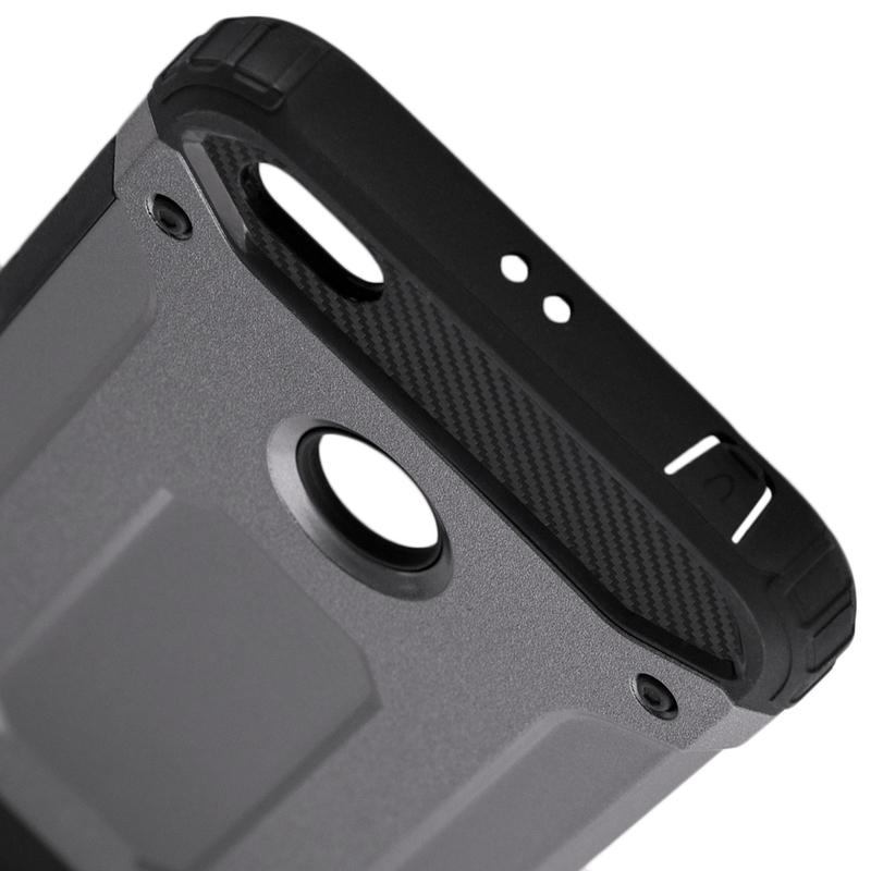 Husa Xiaomi Redmi Note 5A Mobster Hybrid Armor - Gri