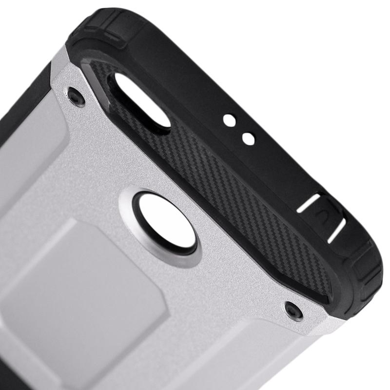 Husa Xiaomi Redmi Note 5A Mobster Hybrid Armor - Argintiu