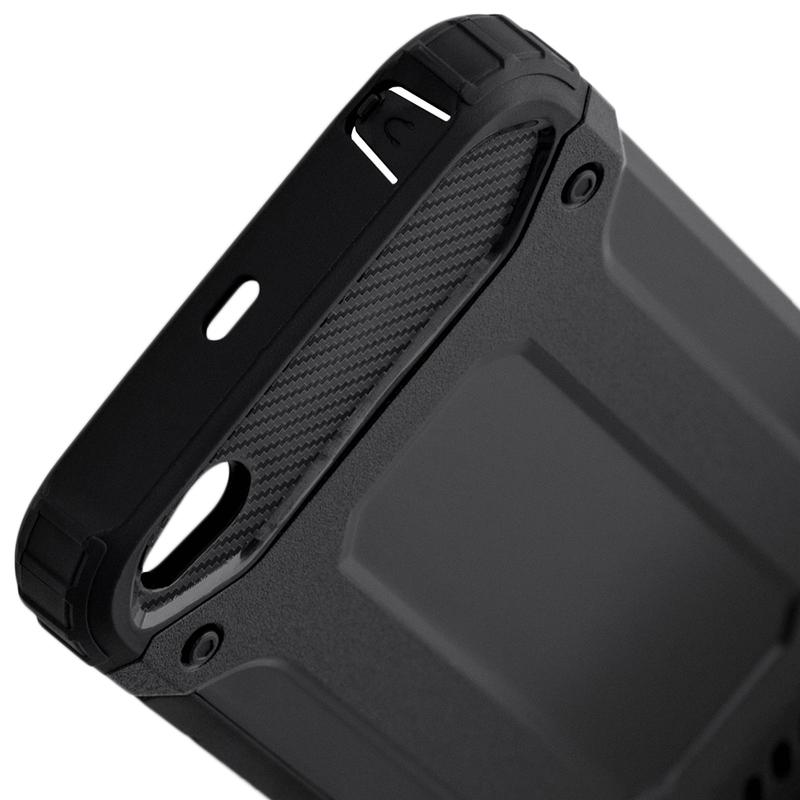 Husa Xiaomi Redmi 5A Mobster Hybrid Armor - Negru