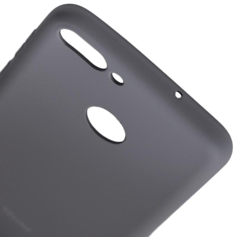 Husa Huawei P Smart Roar Colorful Jelly Case Gri Mat