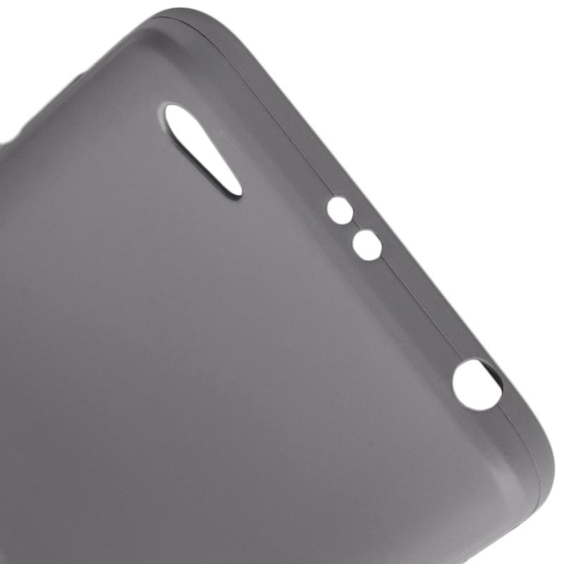Husa Xiaomi Redmi Note 5A Roar Colorful Jelly Case Gri Mat