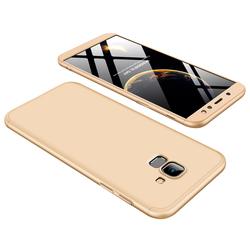 Husa Samsung Galaxy A6 2018 GKK 360 Full Cover Auriu