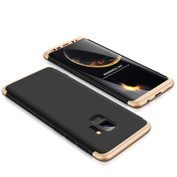 Husa Samsung Galaxy S9 GKK 360 Full Cover Negru-Auriu
