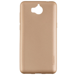 Husa Huawei Y5 2017, Y6 2017 X-Level Guardian Full Back Cover - Gold