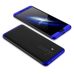 Husa Huawei Mate 10 GKK 360 Full Cover Negru-Albastru