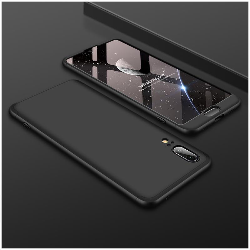 Husa Huawei P20 GKK 360 Full Cover Negru